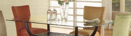 Cheap Rectangular Dining Glass Table Top – Coaster CB4272 (CB4272)