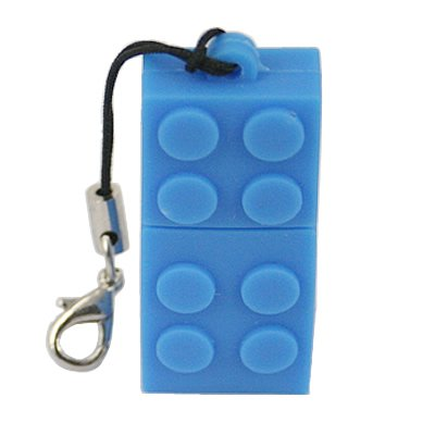 4GB Building Block Flash Drive, Blue