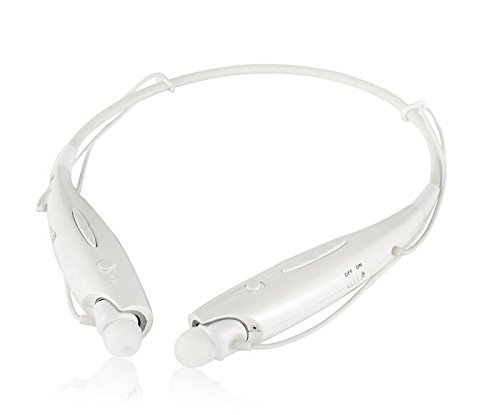 Generic Bluetooth Stereo Headset Wireless Earphone Music Cell Phone Headsets Sport Headphone for Lg Iphone Samsung Hbs 730 White