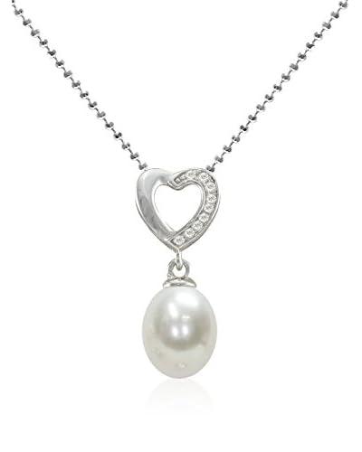 Mayumi Collana Elegance Sterling-Silber 925/Bianco