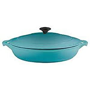 Chasseur Cast Iron 37300BB French Brasier with Lid, Bora Bora
