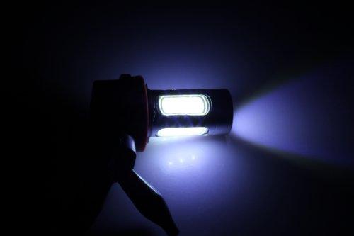 2 X 7.5W Bright White 6000K H8/H9/H11 Cree Led Light Bulb Fog Daytime Driving Lamp Dc 12V