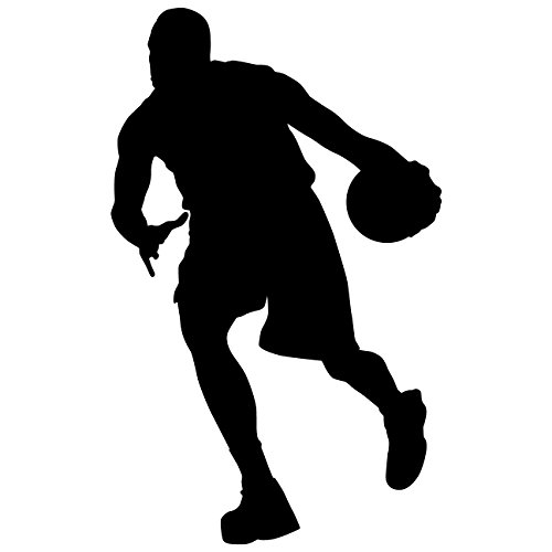 Decor wall art for home decor and decoration basketball player