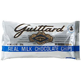 Guittard-Milk Chocolate Baking Chips,11.5oz Bags(Pack