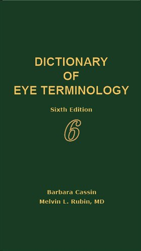 Dictionary of Eye Terminology093766099X : image