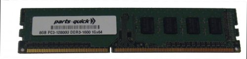 Click to buy 8GB Memory for Lenovo H50-30g DESKTOP PC3-12800 DDR3-1600MHz NON-ECC DIMM (PARTS-QUICK BRAND) - From only $86.99