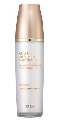Korean Cosmetics, Skin 79, Snail Nutrition Emulsion 120Ml (Snail Slime Filtrate 30% Cotton / Whitening Anti-Wrinkle, Moisturizing)[001Kr]