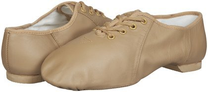 Bloch Youth Jazzsoft Jazz Shoe, Tan-9 C Tod front-1009734