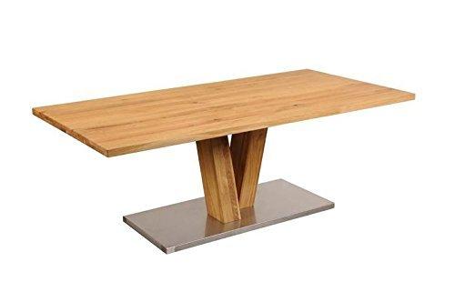 BRÊME Table de salle à manger #117 220x100cm Chêne sauvage huilé bois massif
