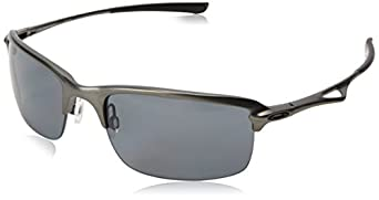 Oakley Metal Frame Glasses : Oakley Mens Oo4071 Wire Tap Carbon Frame/Grey Polarized ...