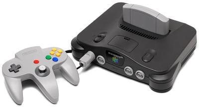 Nintendo 64 System  Video Game Console Picture