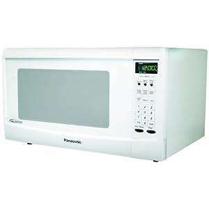 Panasonic NN-SN667W, 1.2cuft 1300 Watt Sensor Microwave Oven, White