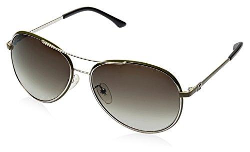 Escada Escada Aviator Sunglasses (Silver) (SES 698G|0539 CC|60)