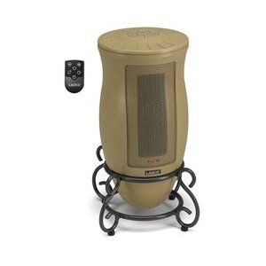 B001F074Q2 Lasko Designer Oscillating Ceramic Heater With Remote Control
