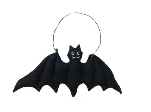 Craft Outlet Paper Mache Bat Wall Hanging, 9.5 by 0.75 by 4.5-Inch