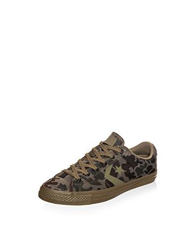 Converse Sneaker Star Player Camo Knit Ox Sneaker grün/khaki