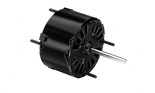 "Fasco D150 5"" Frame Open Ventilated Permanent Split Capacitor Direct Drive Blower Motor With Sleeve Bearing, 1/4-1/5-1/6Hp, 1050Rpm, 115V, 60Hz, 4.1-3.2-2.5 Amps"