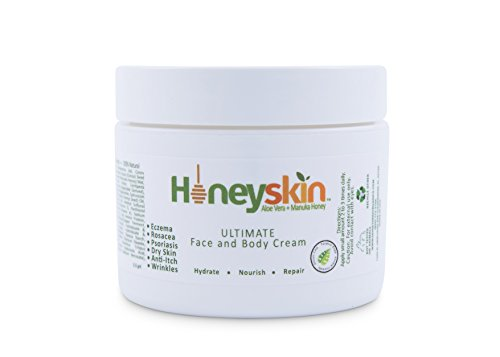 Honeyskin Organics Organic Moisturizer Cream for Face and Body - 2 oz