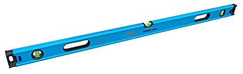 OX Tools 72 Tradesman Box Level with Magnified Vials, Shock Absorbing End Caps, Aluminum, Blue (Tamaño: 72/180cm)