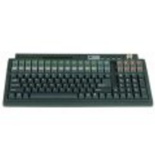 Logic Controls Lk1600-Bk Cmpct Black Prgmble Kbd, Ps2 120 Keys
