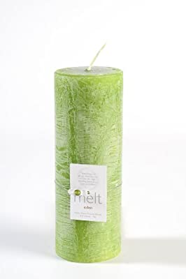 Melt Eden Fragrance Candle Tall N Thin Pale Green