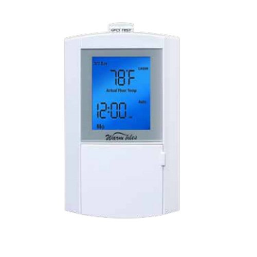 Easyheat Programmable Thermostat Fgs, Dual Voltage 120/240V, 15Amp, Lcd Display(Blue)