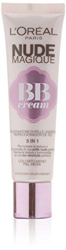 loreal-paris-fondo-de-maquillaje-bb-cream-nude-magique-piel-media-oscura-30-ml