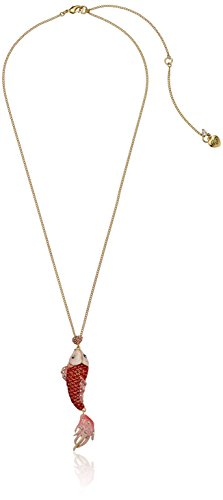 small-island-betsey-johnson-jewelry-garder-la-critters-sterling-poisson-pendentif-long-collier