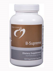 Designs for Health - B-Supreme B Vitamin Combination Formula, 120 Vegetarian Capsules
