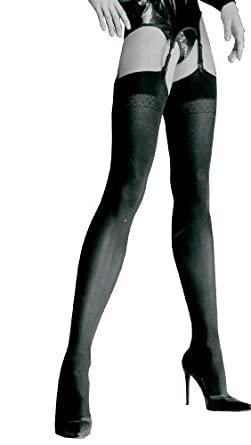 """Trasparenze Sandra opaque stockings small 4'8""""-5'2"""" anthracite"""
