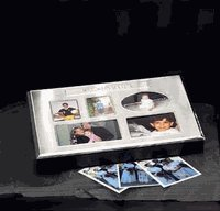 "Silver Plated ""Memories"" Photo Album & Memory Box"