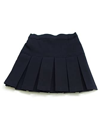 navy blue pleated scooter skort school