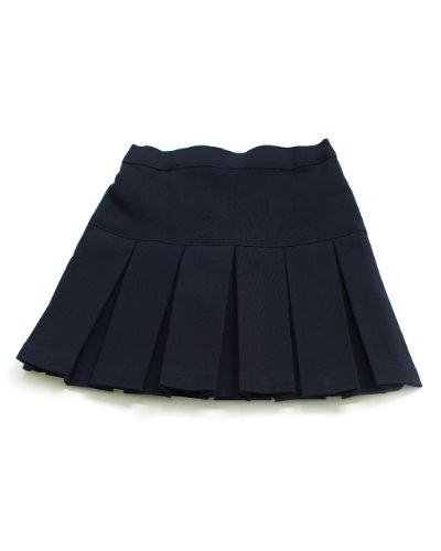 Best Deals Girls Navy Blue Pleated Scooter Skort School Uniform