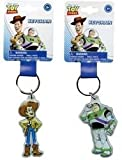 Disney Toy Story Woody Keychain- Lucite Shaped Key Chain