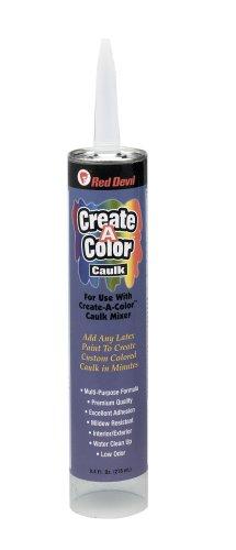 Red Devil 0409 Create A Color Caulk 9 4 Oz Cartridge Hardware Adhesives Coatings Sealants