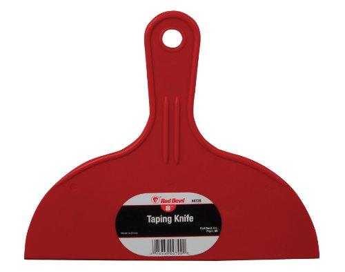 Red Devil 4728 8-Inch Plastic Taping Knife