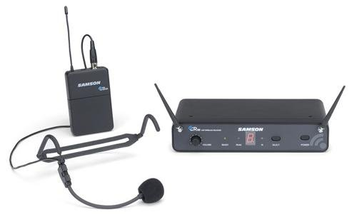 Samson Concert 88 Headset 16-Channel True Diversity Uhf Wireless System (Channel C)
