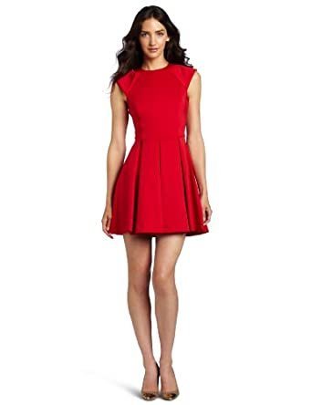 Ted Baker Women's Kipp Dress, Brick Red, UK 1/US 4
