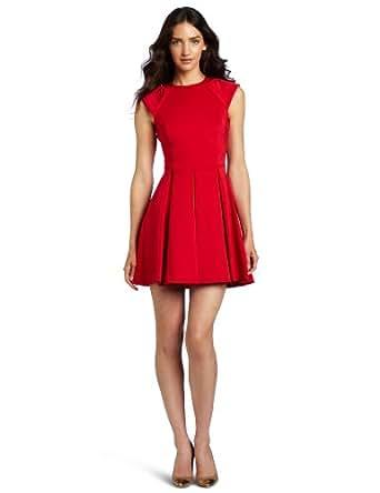 Ted Baker Women's Kipp Dress, Brick Red, UK 1/US 4