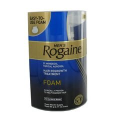 Men's Rogaine Foam-Rogaine Hair Regrowth Treatment, 9/2.11 oz. cans (9 Month Supply)