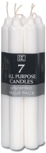 Candle – White – 7 inches – 7 pieces