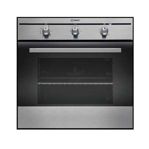 Indesit FIM31KAIX Built In Fan Oven Stainless Steel