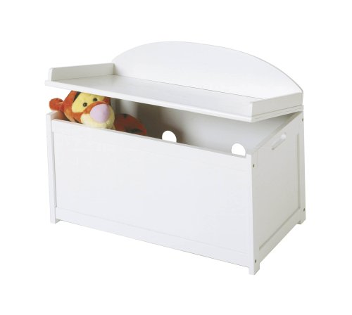 Lipper International 598W Toy Chest, White