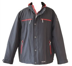 Mens Coat Padded Wind Waterproof Raincoat Jacket. Size XXL 50