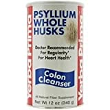 YERBA PRIMA PSYLLIUM WHOLE HUSKS, 12 OZ