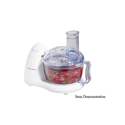 Hamilton Beach 8 Cup Bowl Food Processor - White (70450)