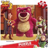 Disney Pixar Toy Story 3 48 Piece Puzzle - Woody, Buzz, and Lotso