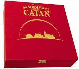 15th Anniversary Wood Edition of The Settlers of Catan