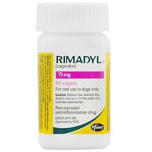 Rimadyl (carprofen) Caplets - 75 Mg X 60 Count Picture