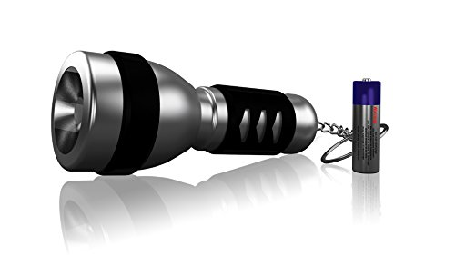 Sterling Flashlight with Keychain - 1